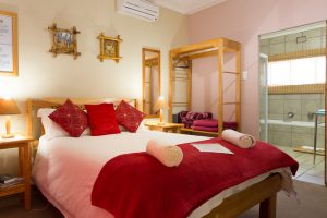 Room 4, a double room with en-suite bath and shower