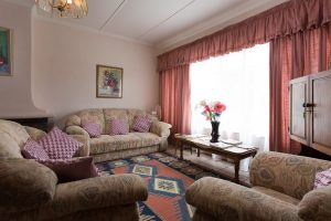 Relax in our communal lounge